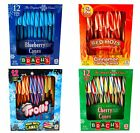 Holiday Candy Cane Bundle 4 Packs 12 ct each Blueberry Cherry Red Hot