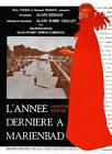 Last Year at Marienbad 1962 FR Poster Reproduction Print Alain Resnais Drama