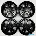 Mercedes G Class G Wagon G55 G550 G63 Genuine OEM 18 Inch Wheel Rims Satin Black