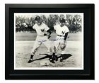 Tony Kubek Phil Rizzuto New York Yankees Authentic Autographed Photo 20x24 Frame