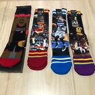 Stance Socks Lot of 4 Pair NBA Oneal Hardaway Iverson Wilkins Worthy Men's L XL