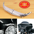 Motor Bat Brow Fairing Accent For Harley Electra Glide Classic FLHTC 1996-2005