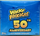 2017 Topps Wacky Packages 50th Anniversary Factory Sealed Hobby Box 24 8