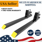4000lb1500lb Tractor Bucket Forks Bolt On Pallet Fork Skid Steer Loader 6043