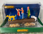 New Lemax Forest Procession Christmas Village Table Accessory Lab Kids Log Dogs