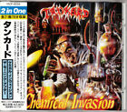 TANKARD Chemical Invasion / The Morning After JAPAN CD VICP-8056 1991