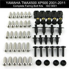 For 2001-2011 Yamaha Tmax500 2010 Motorcycle Fairing Bolts Screws Fasteners Kit