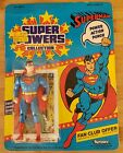 Kenner Toys 1984 Super Powers DC Collection Superman Nice card unpunched