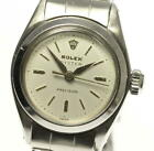 ROLEX Oyster Precision 6410 Silver Dial Hand Winding Ladies Watch_524683