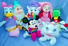 7 Disney Plush Beanies Bianca Marie Maid Marian Jiminy Cricket Daisy Duck Minnie