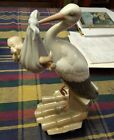Retired LLADRO Spain Special Gift 6228 Stork with Baby Porcelain Figurine NO BOX