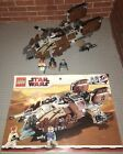 Lego 7753 Star Wars Pirate Tank Complete Set Manual Minifigures