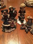 Boyds YESTERDAYS CHILD Dollstone Collection Lot Of 4, Home Again Series