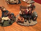 Boyds YESTERDAYS CHILD Dollstone Collection Lot Of 2, Home Again Series
