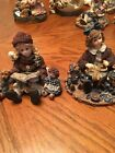 Boyds YESTERDAYS CHILD Dollstone Collection, Lot Of 2, Celebration Series