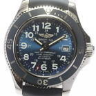 BREITLING Super Ocean A17365 Date Navy Dial Automatic Men's Watch_522895