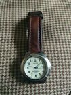 Nautica Indiglo WR 50 M Men's Watch with Brown Leather 2 Piece Band 100% Running