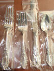 1 KING RICHARD BY TOWLE STERLING 4 PIECE GORGEOUS LUNCH PLACE SET HAVE 8 SETS