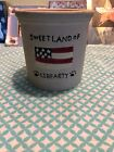 Boyds Bears Pottery Crock 2002 Sweet Land Of Libearty