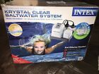 Intex Krystal Clear Saltwater System for Up to 7000 Gallon Pools Filter Pump