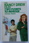 VINTAGE NANCY DREW FILES TWO POINTS TO MURDER CAROLYN KEENE HB 1988