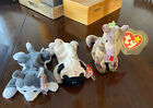 Ty Beanie Babies Nanook, Pugsly, and Scorch
