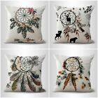 set of 4 native tribe dreamcatcher cushion covers accent pillow cases