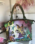 Anuschka Fairy Purse Bag Tote Valentines Gift Butterfly Floral Garden Valentines