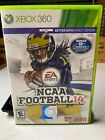 NCAA Football 14 (Xbox 360, 2013) Last NCAA RARE Game Complete w Free Shipping