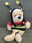 Disney Store Pooh Winnie The Pooh Bumble Bee Beanie Plush Toy