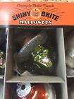 Set 9 Christopher Radko Shiny Brite Witches and Skulls Halloween Ornaments New