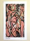 LEE KRASNER FOUNDATION ABSTRACT EXPRSNT LITHOGRAPH PRINT POSTER  BIRTH  1956