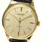 IWC 18K Yellow Gold Cal.853 Antique Silver Dial Automatic Men's Watch_525966