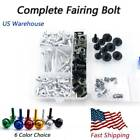 Complete Motorcycle Fairing Bolt Fasteners For Yamaha FJR1300 03