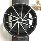 20 SWIRL STYLE BLACK MACHINE WHEELS RIMS LEXUS GS GS300 GS350 GS400 GS430 AWD