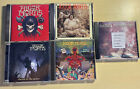 RIGOR MORTIS 5 CD LOT S/T, Freaks, Vs The Earth, Slaves To The Grave,Ramones Trb