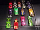 Lot Of 13 die cast Hot Wheels cars Used From 2000 To Present