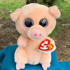 Ty Beanie Boo Baby Babies Piggley Pig 6