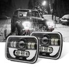 7X6 120W H6054 H6052 HALO DRL Sealed Beam Led Headlight For Jeep Wrangler YJ