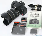 Canon Digital EOS Rebel XTi 400D DSLR 101mp Camera + 17 85mm IS AF Lens +