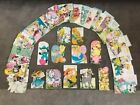 Lot of 46 Vintage Used Easter Cards Crafts Scrapbook DYI