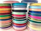5 8 Satin Ribbon Single Face Polyester Assorted Colors Spool 100 yds