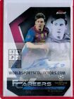 2018-19 Topps Finest UEFA Champions League Soccer Lionel Messi Careers Auto 5