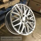 20 SILVER NEW R8 STYLE WHEELS RIMS FITS AUDI TT 32 QUATTRO COUPE ROADSTER