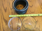 Antique Glass Science Telescope Optics Lenses 2 Convex Concave 5 Diameter