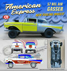 ACME 1957 Chevrolet Bel Air Gasser American Express 1 18 Scale Diecast Car Model