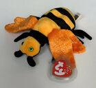 Ty Beanie Bee Buzzie Collectible Beanie Baby Retired 2001