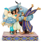 Aladdin Group Hug Jim Shore 6005967 Disney Traditions BNIB
