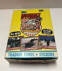 1991 Topps Desert Storm Victory Series Trading Cards 34ct Box