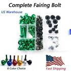 Fairing Bolt Kit Bodywork Aluminum Mounting Fixing For Kawasaki ZX-11C 1990-1993